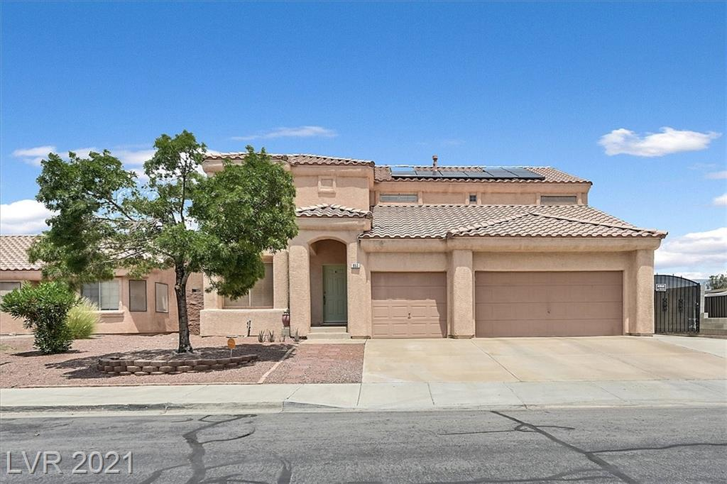 This gorgeous move in ready home has NO HOA, RV Parking and no neighbors behind.  Flooring has recently been replaced and upgraded upstairs.  Home also has Solar Panels, water softener & filtration, wood floors, solid surface counters, 3 car garage, covered RV parking/gates, shutters, HUGE PRIMARY CLOSET, ceiling fans throughout, stainless appliances and a BIG yard. Very rare to find such a well cared for home with all of these features.
