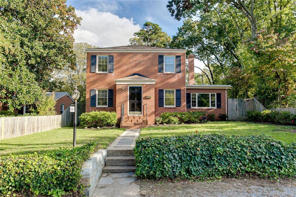 This charming 2 story brick colonial is located within walking distance to Libbie Avenue and The Village Shopping Center. Owned since 1977, this home has been meticulously maintained with many improvements and upgrades. It offers formal living and dining rooms, a cozy family room with gas fireplace insert, a comfortable kitchen with a pantry and plenty of storage space, laundry room, 3 bedrooms and 1.5 baths! Fresh paint inside and out, landscaped yard with beautiful blooming spring azaleas, privacy fence and the list goes on!
