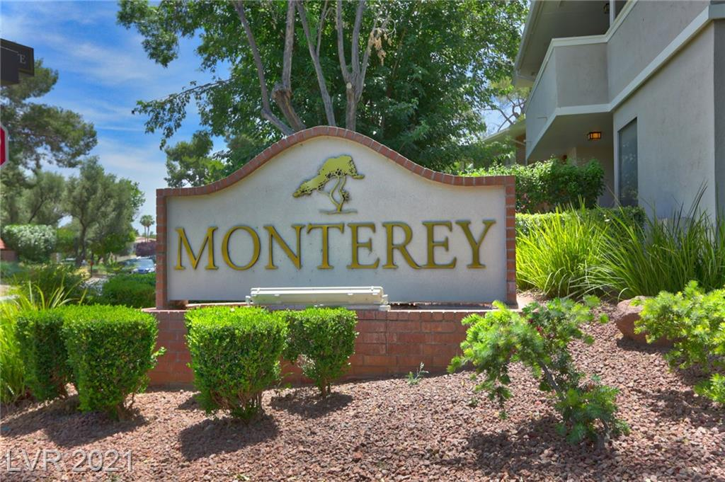 Quiet, comfortable, upstairs, 1 bedroom condo in historic Las Vegas Country Club with golf course view from dining area.  Unit features granite counters, Hunter fans, track lighting, newer, personal size washer and dryer, HOA provides water and the owner has upgraded plumbing connections.  Centrally located and close to everything; Strip, airport, major medical, malls and all shopping.  Take a walk any time of day or night, patrolling and guard gated security keep you safe.  If any of the foregoing is important to you, you may belong here!