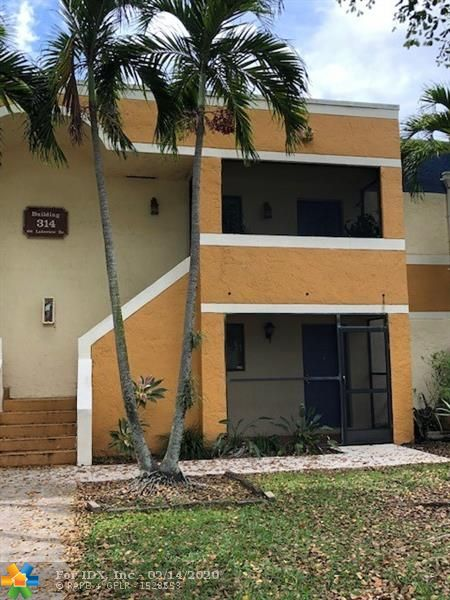 ***SHOWINGS AVAILABLE DURING THESE TIMES***Popular Lakeview Location - Nicely Finished Baths and Kitchen - Canal Front - Screened Patio - Tenant Occupied - Rentals Allowed by Condo HOA - Spacious 2/2 Weston Garden Apartment - Ground Level 1st Floor Excellent for Investor - Great Tenant Willing to Stay.