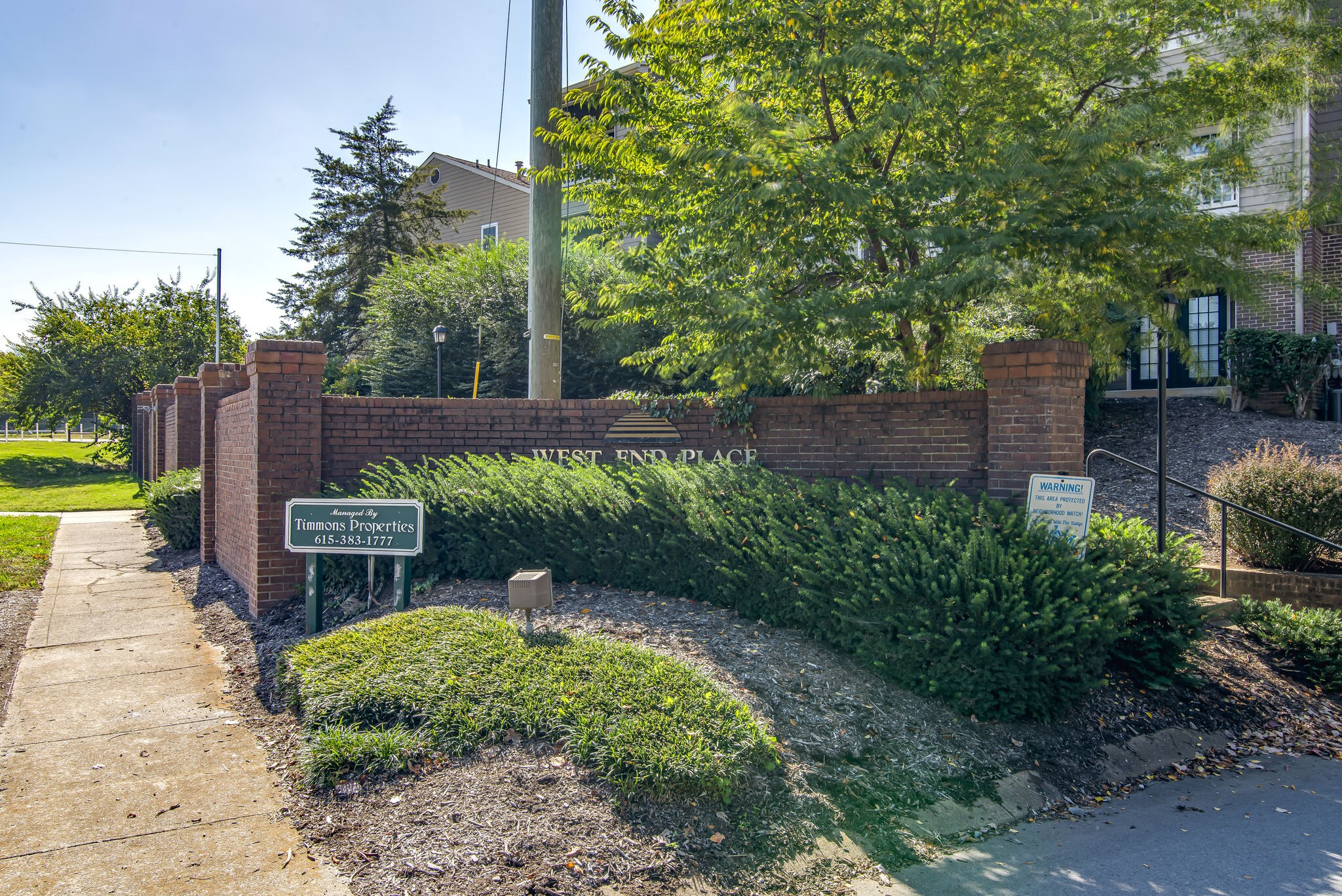 LOCATION LOCATION LOCATION! Less than 5 minutes from Sylvan Park and only 10 min from Downtown, close to everything! This beautiful condo in West End Place has 2 Beds and 2 Full Baths. Great floor plan with large primary bedroom, new paint, and an updated kitchen. There are a large washer and dryer in the unit. A great porch with a lush green view and extra storage space. Beautiful Community Pool! This is a great rental/investment opportunity. One of the best locations in the building!