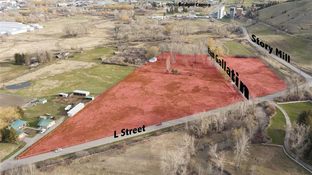 Large scale infill/ redevelopment opportunity in Bozeman Montana. This ~9.96 acre parcel is just one of multiple parcels contained in offering both inside and outside of city limits some including East Gallatin River frontage.