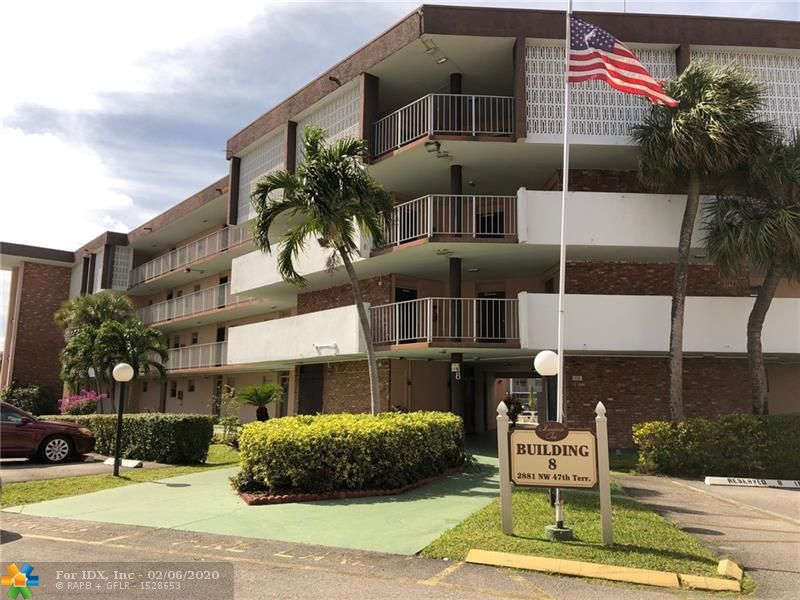 Corner Unit at the popular Lauderdale Oaks in Lauderdale Lakes. Bright & Airy with lots of natural light. Enclosed Balcony. 55+ Community offering an array of amenities which include Two Heated Sparkling Swimming Pools, Sauna, Exercise Room, Club House, Theater, Billiards, Card Room, BBQ Picnic Area, Library and much more. Well maintained complex. Lovely manicured grounds. Low maintenance fee includes Cable TV! This is a Fannie Mae HomePath Property!