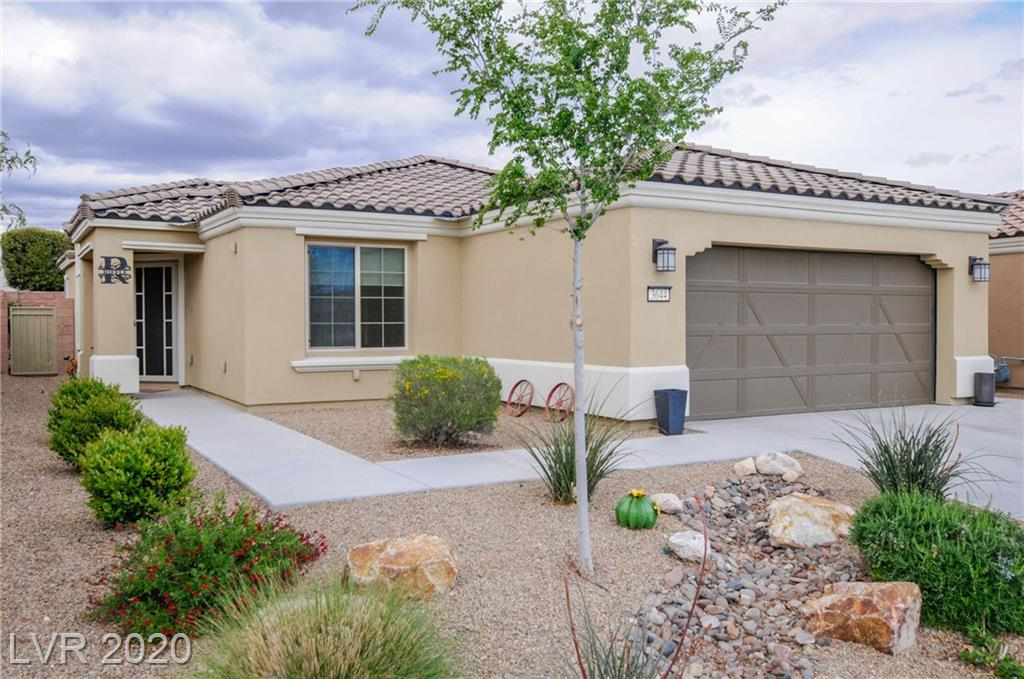 Upgrades galore!  2 Beds + Flex Room. Beautiful modern Tile, Granite & Cabinets. Covered Patio with fan and PRIVATE pool, Garage w/Epoxy Floor and overhead storage. 55+, Guard Gated Community offers Green Space/Parks, Walking Trails, Community Center Amenities are 2 Pools, Spa, fitness, Card & Billiards Rooms. B-Ball, Tennis, & Bocce Courts.  Solar for no electric bills.  Make this gem your next home.