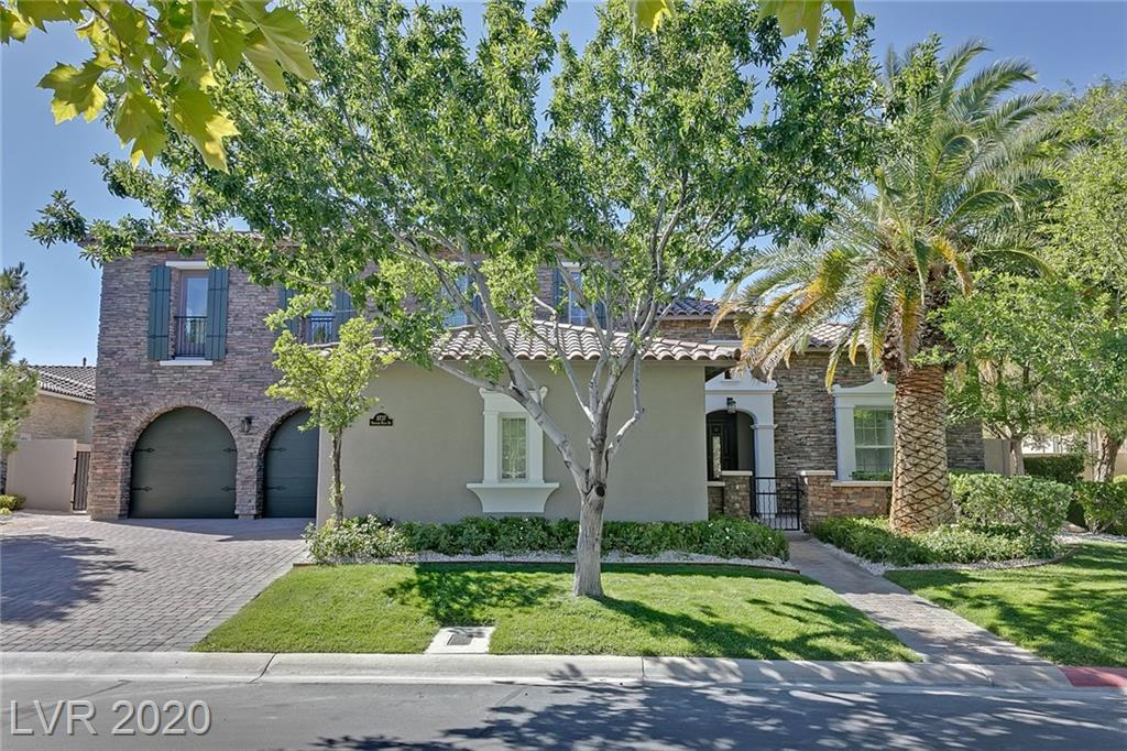 A must see! Remodeled, stunning DaVinci model inside Southern Highlands Golf Club. Italian marble and porcelain, fabulous, elegant, chefs kitchen, huge master, two casitas, breathtaking golf course views, infinity edge pool, built in BBQ, OVERSIZED lot. This home has it all!