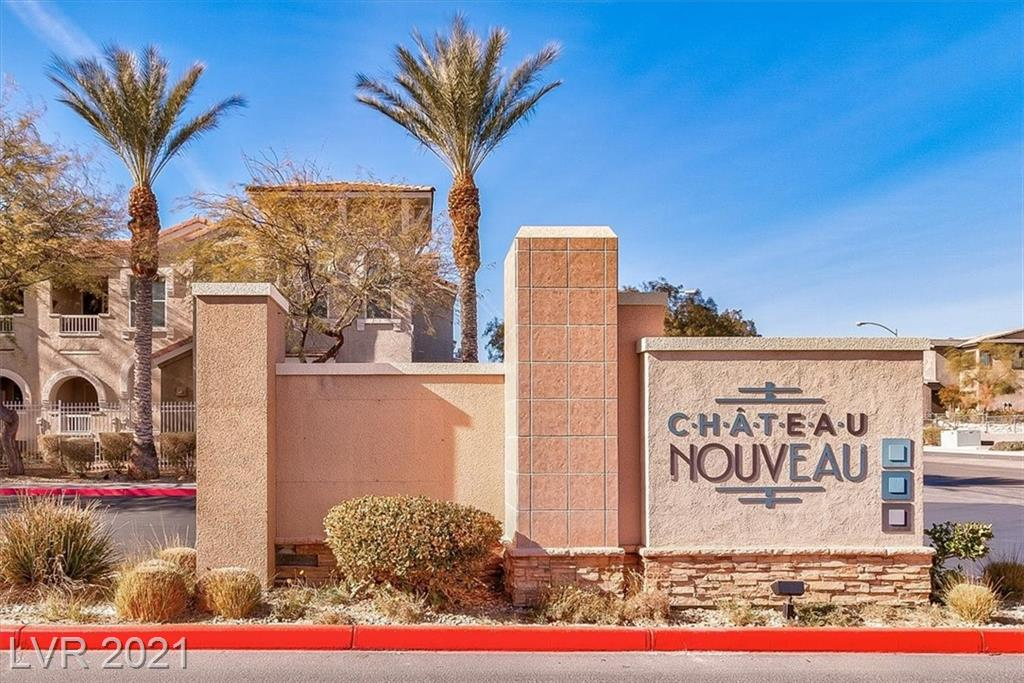 Desirable gated community west of the 215, close to shopping and restaurants.  Bottom floor unit remodeled with new paint, flooring, base boards, blinds, kitchen sink and faucet.  All appliances included.  Community features community pool and spa, clubhouse, exercise room and BBQ areas.