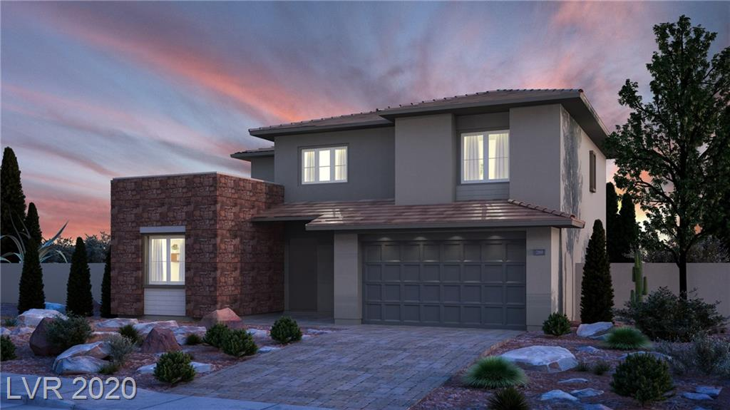 "New Home Summerlin Home in Stonebridge! This home includes our ""Everything's Included"" features such as stainless steel kitchen appliances, 2"" faux wood blinds, Home Automation, USB outlets at kitchen & master, and much more!"