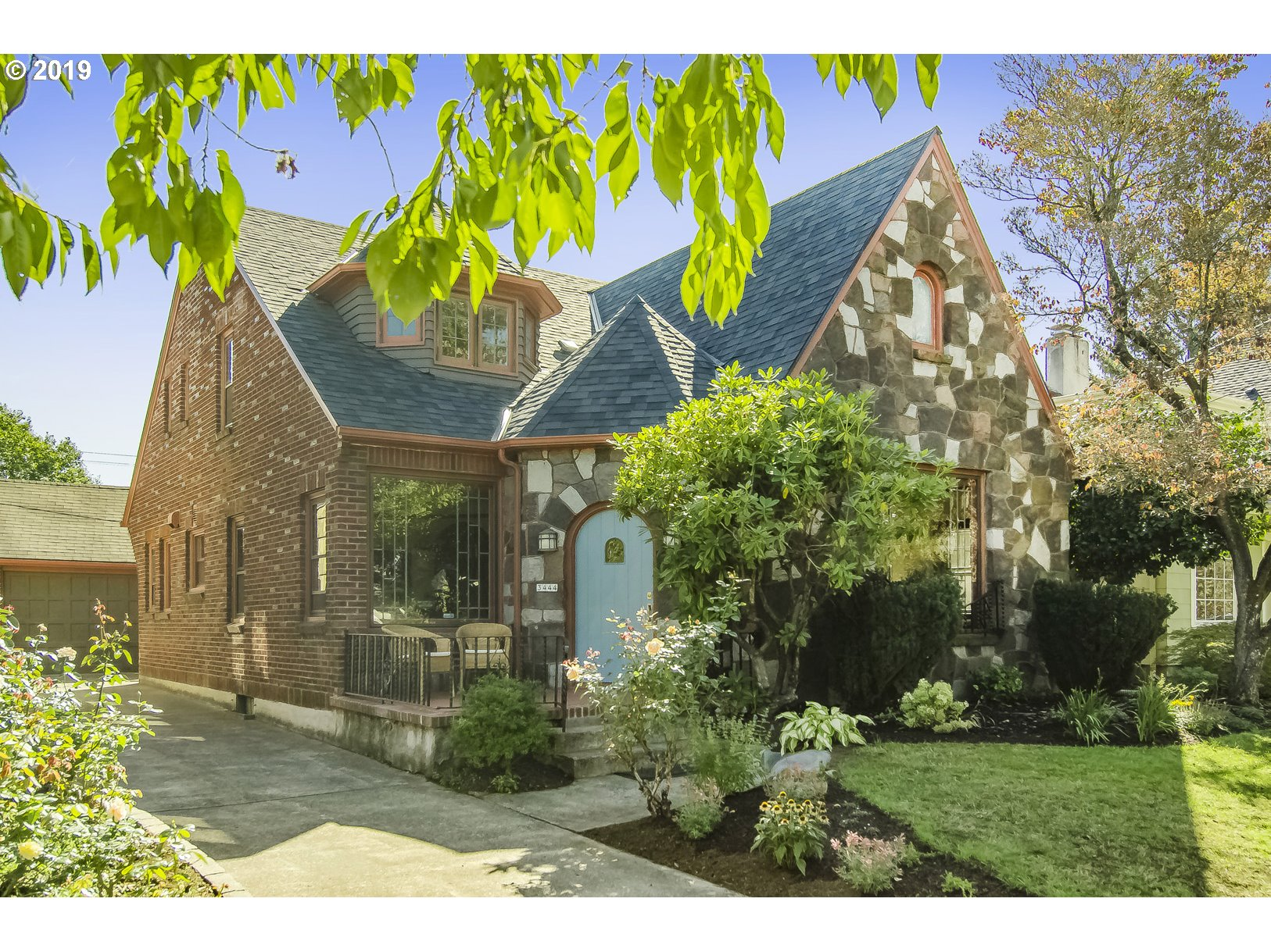 This lovely Alameda tudor-style home has recently been updated. The house is a statement of classic architecture with wood floors, leaded windows, period moldings and coved ceilings. This timeless residence is light and bright enjoys a spacious eat-in kitchen, lovely formal areas, an expansive family room and an office. Enjoy the elegance of the past and the livability of today close to shops, parks, and easy freeway access. [Home Energy Score = 3. HES Report at https://rpt.greenbuildingregistry.com/hes/OR10044683]