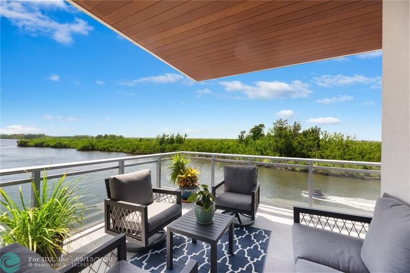 "Seaside Village: new Direct Intracoastal 3-Building Complex, 5-Units Per Building. Penthouse occupies entire top floor, 1800 Sq Ft of Wrap Balconies view Intracoastal, Nature Preserve, & Ocean. Living Area: Walls of Sliding Glass to the water. Private Elevator, Impact Glass, Smart House Pre-Wired, Electric Car Ready. Electric Window Treatments, 3-Car assigned slips. 45-Ft Boat Slip available for purchase. Kitchen: 150 Bottle Sub-Zero Wine Chiller, 36"" Wolf Induction Cooktop, Sub-Zero Refrigerator, Wolf Double Ovens and Micro, European Modern Cabinetry, Island seats four, Ceasarstone Tops, Porcelain Tile Floors. Waterside Pool with Lounge. Walk to the Beach, Ocean, and Dining.