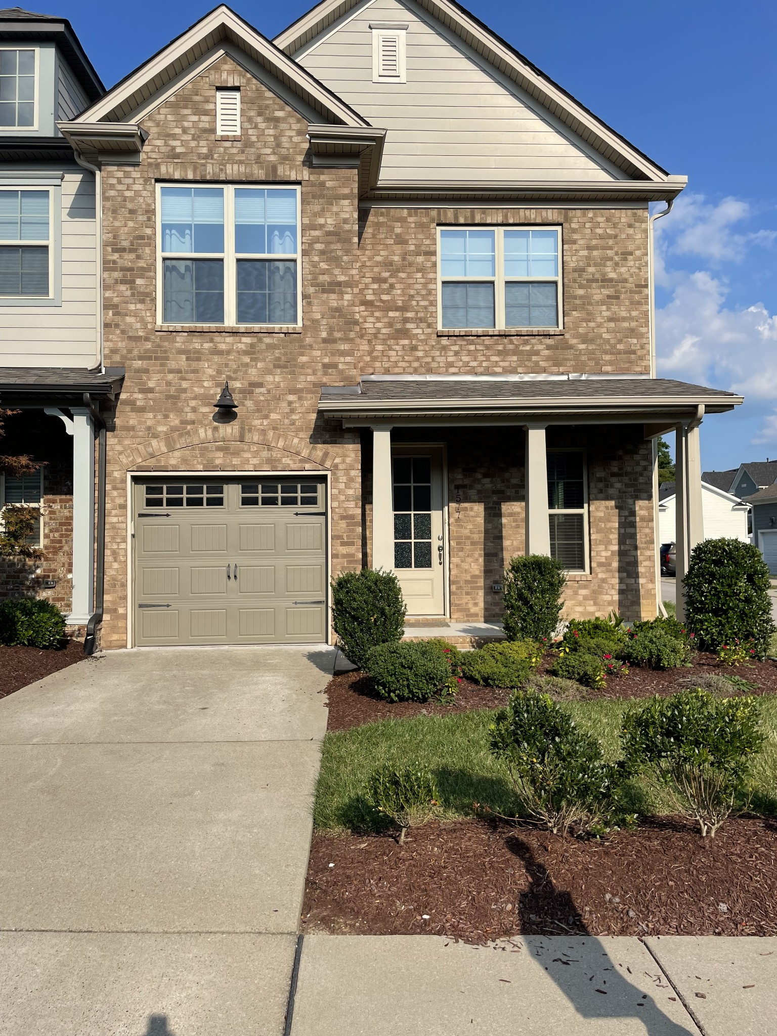 Location, Location, Location! Super convenient townhome with easy access to virtually everywhere! MASTER DOWN!! End unit. Virtually flawless interior, ready for quick closing if needed. Home has great storage, generous sized rooms and modern touches. The wood floors and stairs are a beautiful contrast to the lighter tones and high ceilings. Ready for showings Friday August 27, 2021.