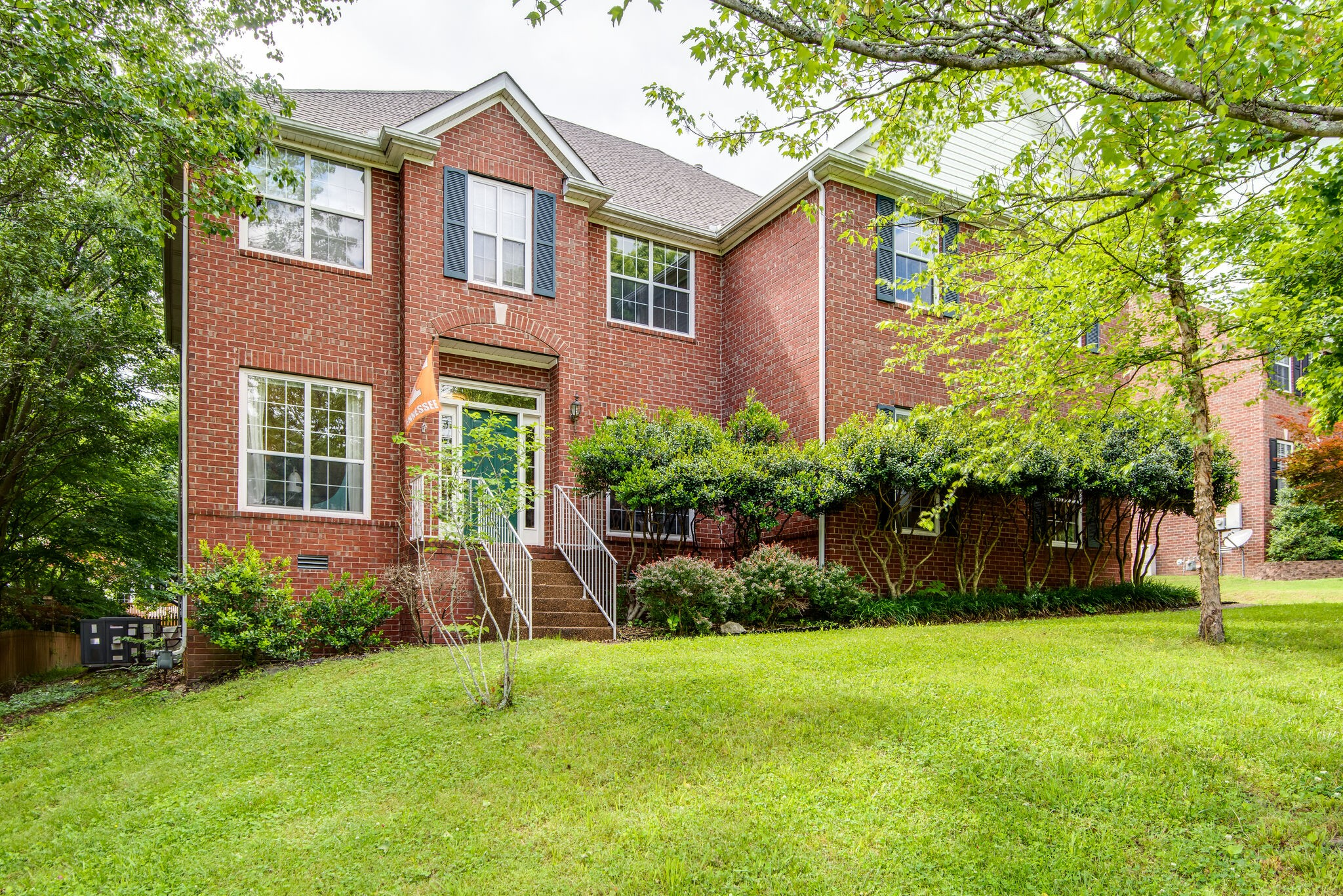 Gorgeous All Brick Home in a Well Established, Quiet Neighborhood; mins to I65 & Cool Springs; Mature Trees, Neighborhood Sidewalks; Open Concept Floor Plan; Luxury SPC Flooring; SS Appliances; Loft Bonus Room; No HOA; Back Patio Pergola to Remain; Hot Tub Does Not Remain;