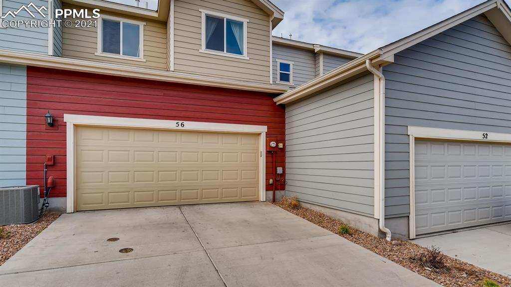 This beautiful townhome was built in 2018 and the original owners have taken pride in keeping it spectacular! The kitchen and living room have an open floor plan with white quartz counters and stainless steal appliances. The main floor also has a powder room and access to the attached 2 car garage with ample storage space. Three good sized bedrooms are on the upper floor. The master suite includes double sinks and a walk in shower. The laundry is upstairs and the washer and dryer are included! The patio is private and comfortable for an outdoor entertainment space. The community offers a gym and a small event center. This community and unit will not disappoint! Showings begin Saturday May 1st at noon!