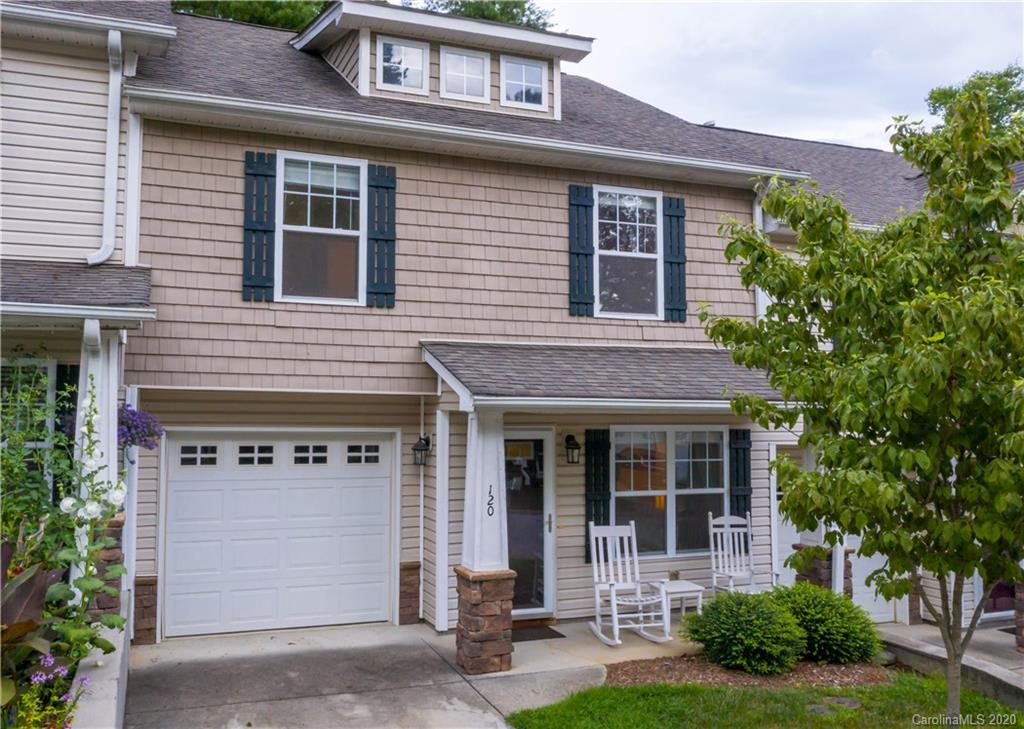Come see this wonderful 3 bedroom townhome in the heart of Fletcher. Minutes from Fletcher Park and shopping and halfway between Hendersonville and Asheville.  Wonderful Living with low HOA fees! Patio out back with a creek and beautiful wood to look at. Well maintained and low maintenance.  Animal friendly!