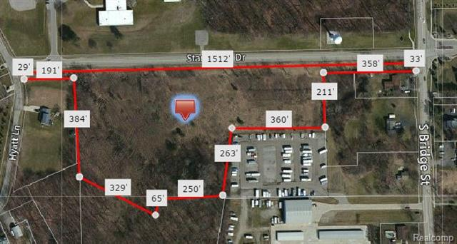 8 acres zoned multi-family with 1562 feet of road frontage. Once approved for 72 condos or apartments. Can also be used for single family homes or split up into lots. City sewer and water. Walking distance to downtown Linden. City is very cooperative. Buyer to verify all information given including but not limited to restrictions if any with the Municipality.