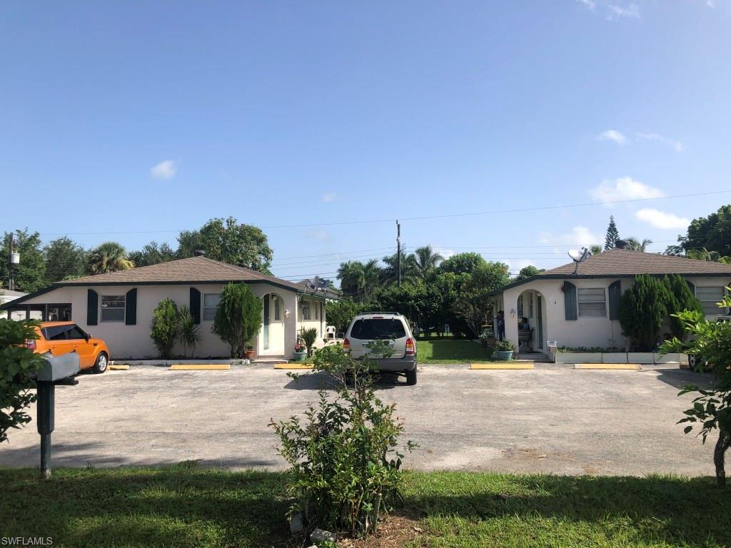 LOWEST PRICED DUPLEX/QUADRAPLEX IN ALL OF COLLIER COUNTY!! Listing Price is Based on Property being sold together with adjacent Duplex at 3365 Estey as a Package for a Total of $500,000 ($250,000 Each) for 2 Duplexes That Equals (4) 1 Bedroom 1 Bath Units. Seller would consider selling a single Duplex for $275,000. Each Duplex Consists of (2) 1 Bedroom 1 bath Units. Excellent Central Location near Public Transportation. Structure is sound, Kitchen and Bath In Front Unit is in the process of updating. Roof is approx. 15 years old and in good condition. Excellent Rental History with Long term tenants. With some updates the property would make a perfect Short Term Rental