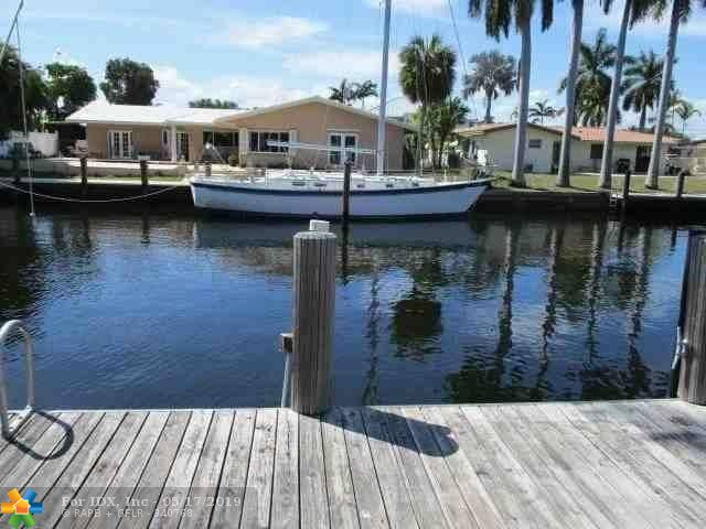 FANTASTIC DEEP WATER ACCESS 100' LOT IN THE LANDINGS NEIGHBORHOOD. ONE OF THE MOST DESIRABLE NEIGHBORHOODS IN FORT LAUDERDALE. APPRAISAL COMPLETED MARCH 2019 = $1,150,000. RENOVATE THIS HOME OR TEAR DOWN AND BUILD A NEW BEAUTIFUL HOME. EXCELLENT INVESTMENT VALUE!