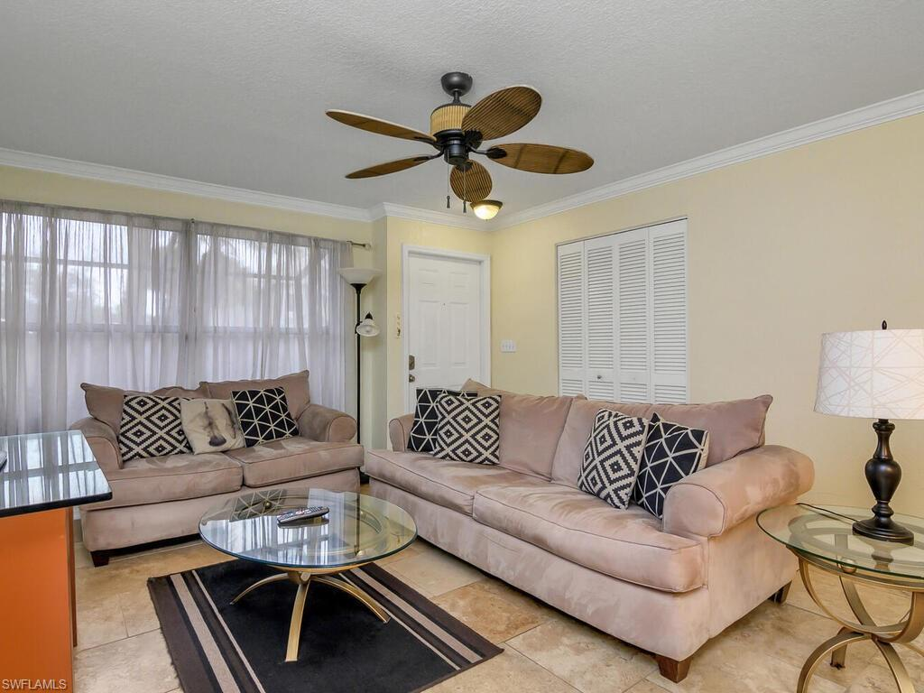 Excellent condition and perfect for a Naples get-a-way or an investment. Tile flooring throughout. This is a first floor unit that is very open and comfortable. North Naples location which is close to the beach, Mercato, and other shops and restaurants. Enjoy the community pool in the lovely setting offered here. Great for the investor, or for someone looking for a winter get-a-way.  Close to Vanderbilt beach, Mercato, Wholefoods, shops and restaurants.