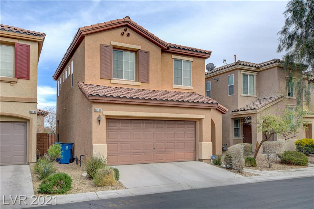 Beautiful fully furnished three bedroom three bathroom home in Mountains Edge with Community Pool! Enjoy all utilities, housewares, linens, WiFi, and TV streaming service included with your stay. House features, granite countertops, fully fenced backyard, and washer and dryer in unit. Location is accessible to major roads, shopping, dining, and Las Vegas Strip. Available for short and long term leases!