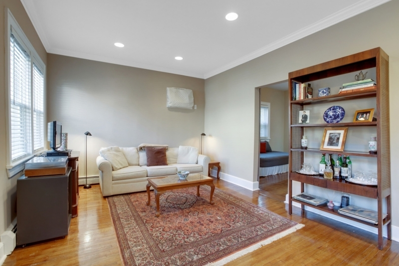 Charming urban townhouse feel just steps to Midtown Direct train to NYC. Lovely deep garden oasis w an in-town location, blocks to park, town & schools. Flexible floor plan offers 3 bedrms, 2.2 baths + bonus room on 3rd flr & finished LL. Living rm, 1st flr Owner Suite w Full Ba w/Jacuzzi, Kitchen w/ sliders to private deck & fenced rear gardens + tumbled marble backsplash, stone flr & SS appl inc:GE ref, Frigidaire DW, gas range & microw, addl Powder Rm on 1st level.High ceilings.Lower lev offers rec rm, laundry area + Powder Rm.Storage Shed in rear. Driveway w/space for 2 cars. Blocks to downtown Millburn shopping, restaurants, trains to NYC, Taylor Park. Top rated Millburn schools. Fab opportunity to live in Millburn on revitalized street w many newer, more expensive homes. LOW TAXES!