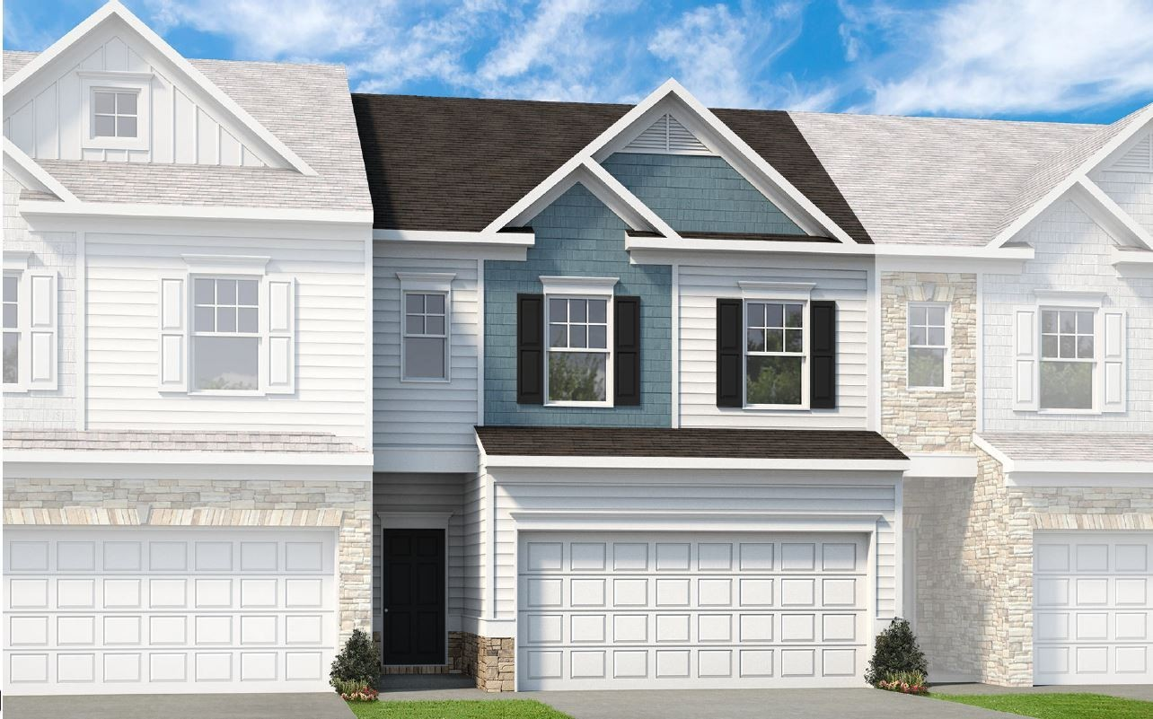 The Norwood MIDDLE UNIT by Smith Douglas Homes offers an open floor plan with lots of living space. Estimated completion on this unit is 12/2021. Stock photos show units in another community.Gray cabinets, luna pearl granite, g tub& tile shower, upgraded floors/lighting, mud bench, crown molding. All buyers must qualify with Brad Daniel of Guaranteed Rate Mortgage prior to contract. Required deposit $7500. NO RENTALS. $3000 Towards CC with preferred lender.