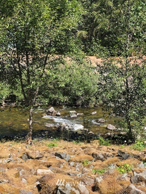 60' of BUTTER CREEK WATERFRONT! Beautiful .24 acre lot to include 2 RV hook-ups, newer furnished 10X20 Cabin with 2 lofts, newer 10X16 shed w/loft and partially fenced. This property is set up for camping or build w/ Newer 1 bedroom septic tank, power and water.  High Valley Amenities include golfing, swimming pools, clubhouse & playground! Close to White Pass skiing, hiking, biking, fishing and many more outdoor activities.