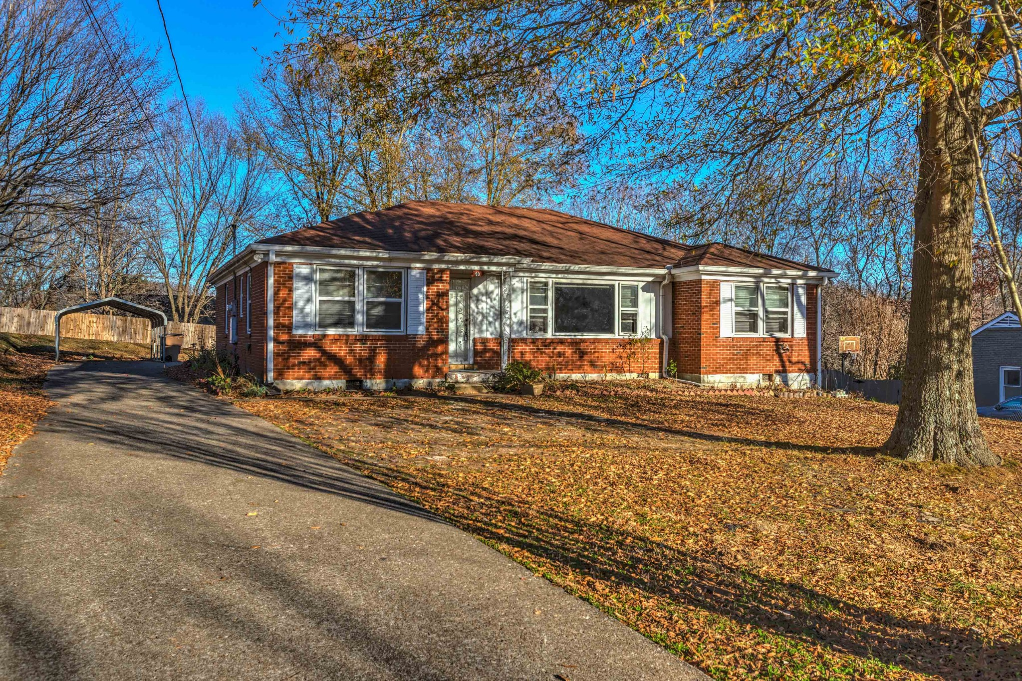 Location! Location! Close to downtown and airport. Extra large living room with hardwood flooring through out the house. Newly built deck, AC replaced in 2016, HVAC 2015.