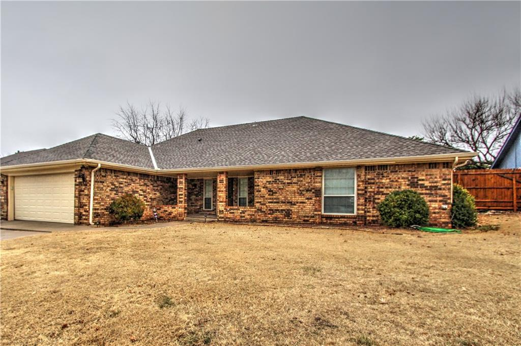 Easy access to I-40! Close to grocery store, shopping and restaurants.  This house is made for entertaining with a split floor plan and 3 roomy bedrooms.  House has been freshly painted throughout.  The LARGE 18 X 20 Living area has a wood buring fireplace and is open to the dining room with beautiful wood flooring.  Walk out the French doors to an oversized covered patio and a pool with a diving board and slide.  Also, has a storm shelter in the garage.