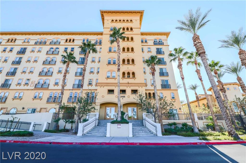 Absolutely gorgeous 2 bed 2 bath condo at the prestigious Boca Raton High Rise, just off the fabulous Las Vegas strip!  Granite countertops, cherry cabinetry, stainless appliances, tile backsplash in kitchen and bathrooms, tan/white paint, full tile surround showers, and balcony overlooking the serene courtyard!  The complex is perfectly situated right off the south Las Vegas strip, and boasts many luxury resort amenities including pool/jacuzzi, fitness center, movie viewing room, 24 hour security, concierge service, etc.  Truly an amazing property!  The seller is offering a $2,000 credit toward new carpeting/flooring at closing.