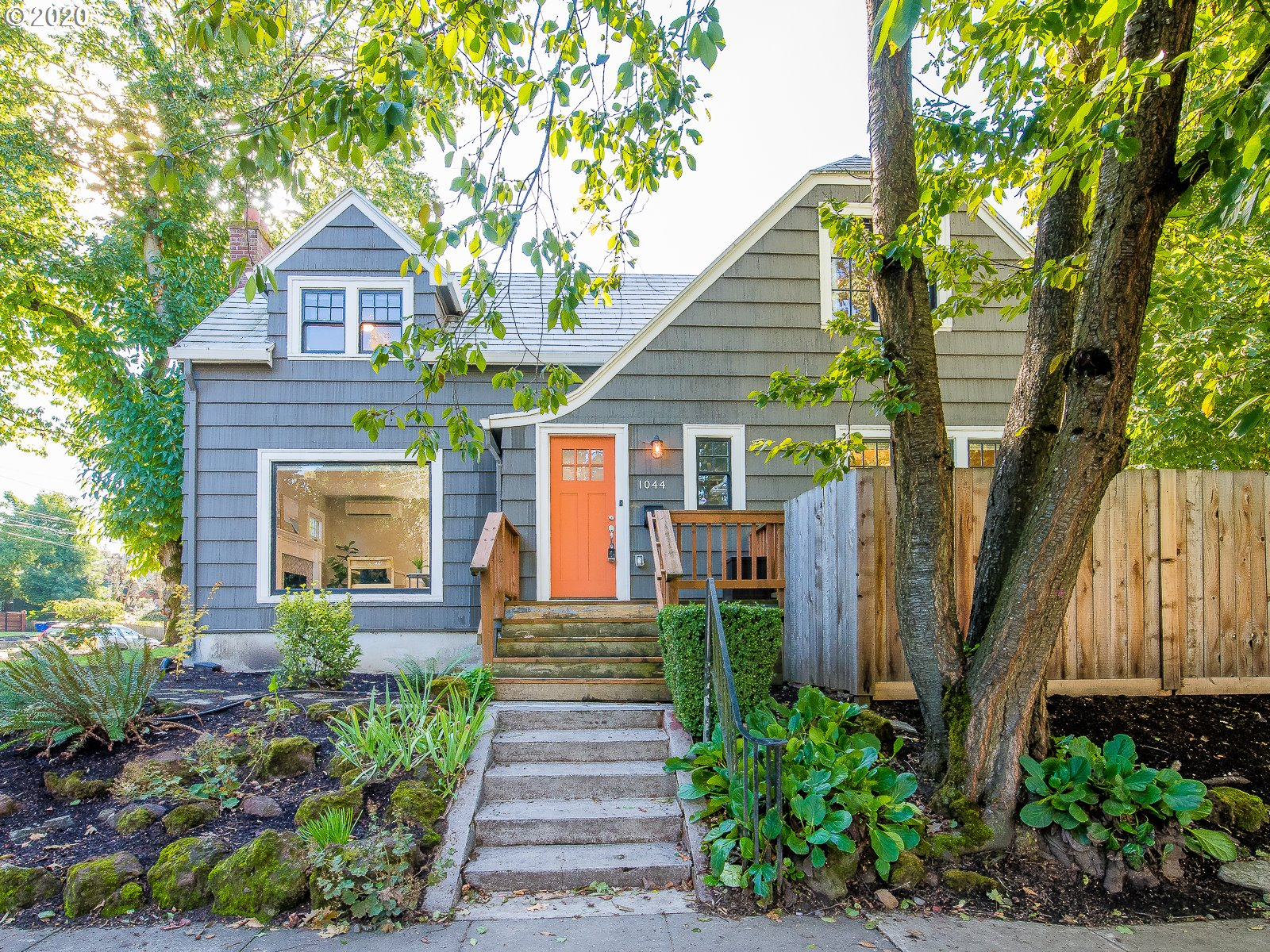 Charming Irvington three bedroom plus ADU! Located on a corner lot with Irving Park for a next door neighbor, this home has been lovingly restored over the last few years. Home has updated electrical, plumbing, new heat pumps, new detached garage with power (including high voltage power for EV charging), and much more! Basement ADU has large window for loads of natural light and polished concrete floors. Don't miss this unique home that's going to check a lot of boxes!