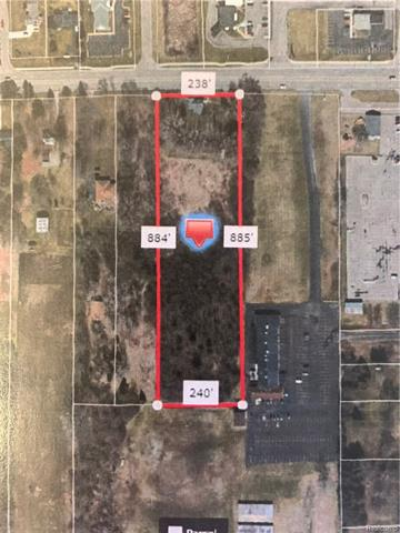 GREAT OPPORTUNITY!!  5 Acre parcel on Davison Rd.  Located across the street from Elga Credit Union, Family Dollar & VG's.  High traffic location with great exposure.  Convenient location - close to M-15, easy access to expressway & other amenities.  Broker is owner.