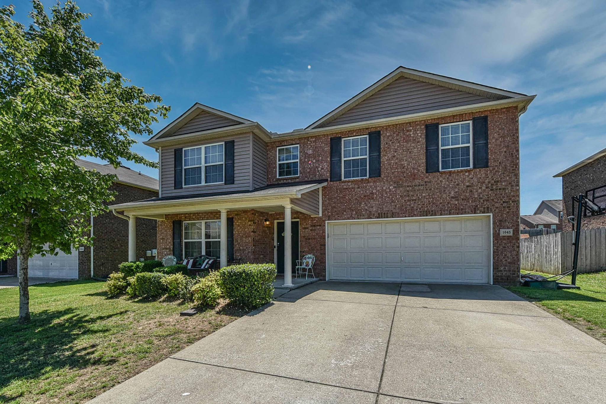 All bedrooms up, large owner suite, 19x16, walk in closets in all BR. New HVAC, new Kitchen Aid dishwasher, newer range & water heater. Large, level, fenced yard. Amazing community w/pool & clubhouse. Convenient location, desirable schools. Showings Fri 5-14 thru Sun 5-16. Offers due 1:00 pm 5-17.