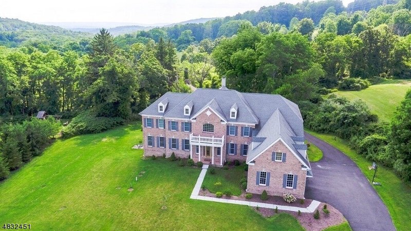Stately (2004 Built) Brick Colonial ( 6300 sq ft) offers 4 bedrooms, 5 full & 2 half baths & walk-out lower level at