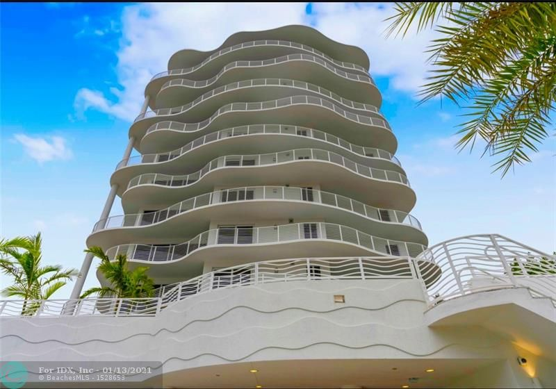 THE NEWEST BUILDING TO OPEN ON FT.LAUDERDALE BEACH! Immediate Occupancy! BRAND NEW 3 BEDROOM. 11 floors w/ only 17 luxurious residences. Only two Residences per floor. This unit takes up one half of the floor giving you incredible Sunset views. Terrace is over 2000+ sqft and wraps around the entire Residence with access from every room. Terrace large enough to add your own private hot tub! Open-Concept floorplan gives you lots of natural sunlight, floor to ceiling energy efficient glass, Italian Cabinetry, Quartz Countertops. Situated in the heart of North Beach village, a vibrant neighborhood nestled between Fort Lauderdale Beach and the Intracoastal waterway, within minutes of superb dining, fine shopping, and world-class cultural Arts and entertainment centers. SEE VIRTUAL TOUR LINK.
