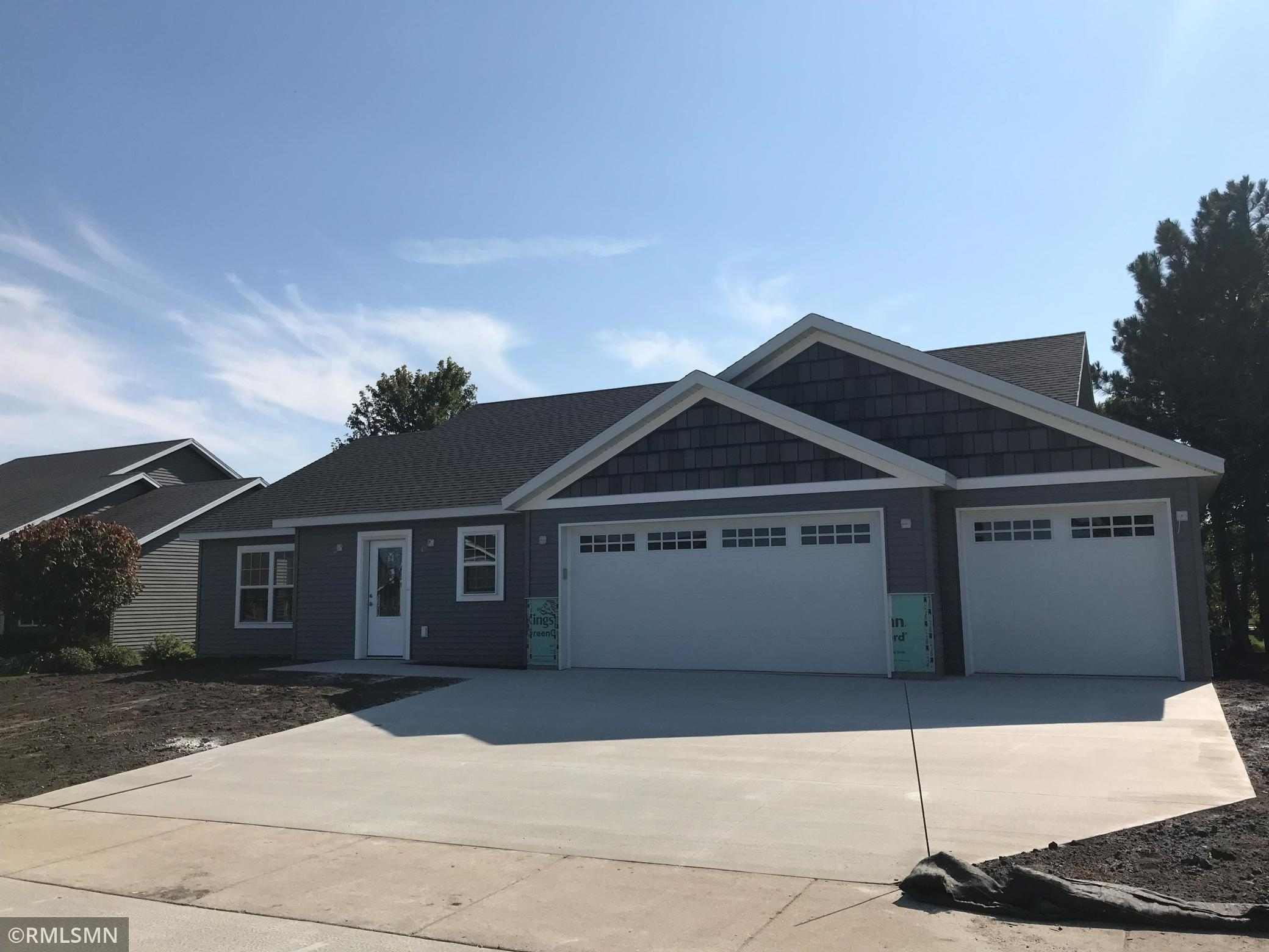 1684 SQ. FT. RAMBLER WITH THREE BEDROOMS - TWO BATHS - CUSTOM CABINETS - MASTER BEDROOM SUITE -  WALK-IN CLOSETS - INSULATED GARAGE - CENTRAL AIR  - VINYL SIDING -UNDERGROUND SPRINKLER- GREAT FLOOR PLAN.