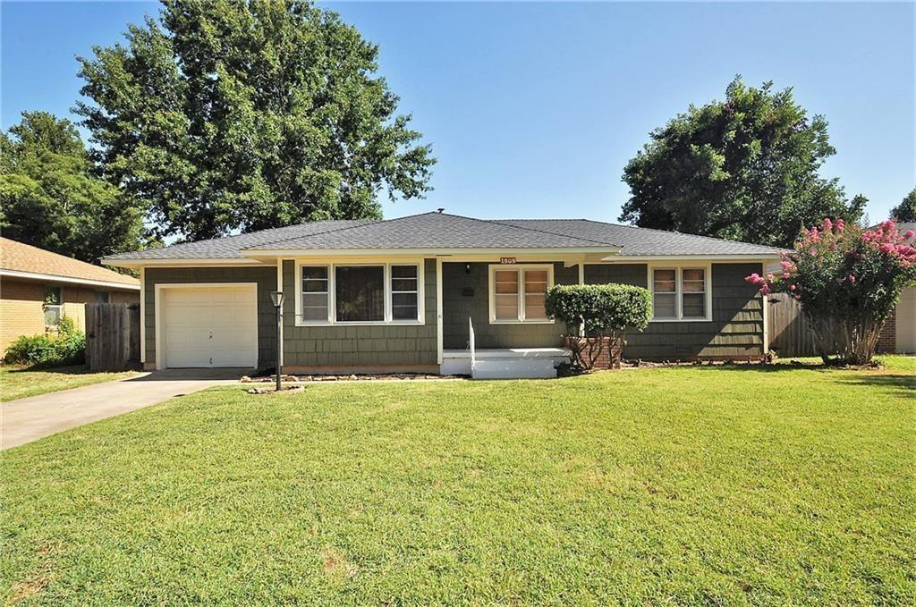 Conveniently located home in central Norman. Original wood flooring with picture windows in livingroom. 3 bedroom, 1 bath home with a spacious backyard with mature trees.
