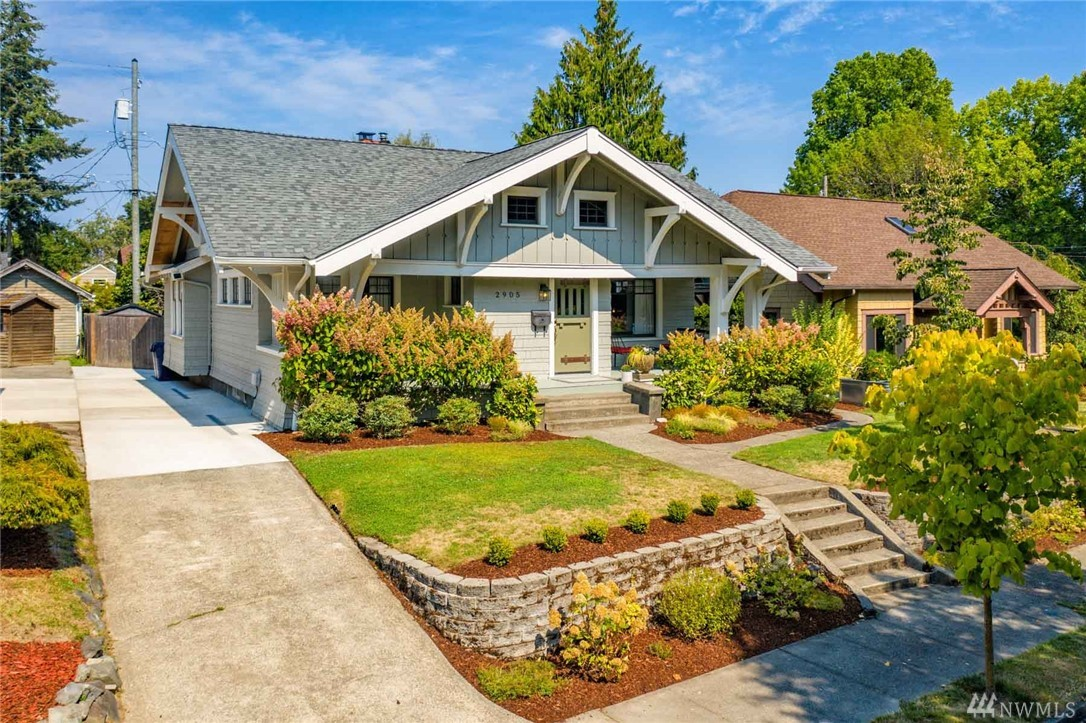 This classic craftsman is just screaming to be featured on HGTV. The living spaces are punctuated with quintessential charm and warm, welcoming nooks. Stunning period details make a statement upon entry, and pair with thoughtful modern touches that will make you happy to be housebound. Fully-finished basement, with structural, cosmetic, and system updates throughout. Coveted north Tacoma location, close to local amenities, on the street of your dreams; there is truly no place like this home.