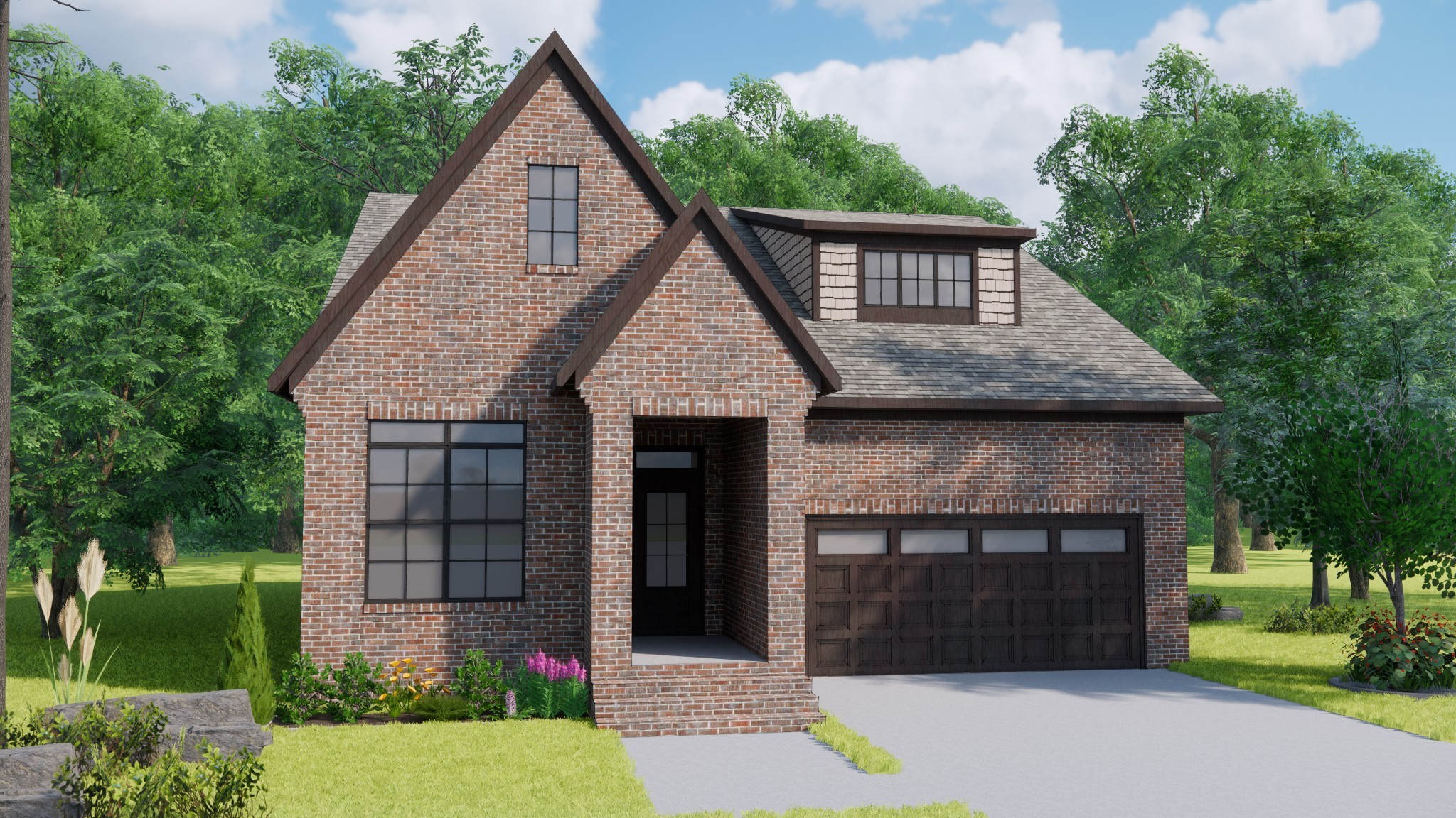 The Maggio. Come view one of five new floorplans from Landmark Homes @ Southpoint! Brentwood's newest walkable community located near the corner of Pettus Rd / Nolensville Rd. Come in and pick your lot, customize your new home, and close by the end of the year!