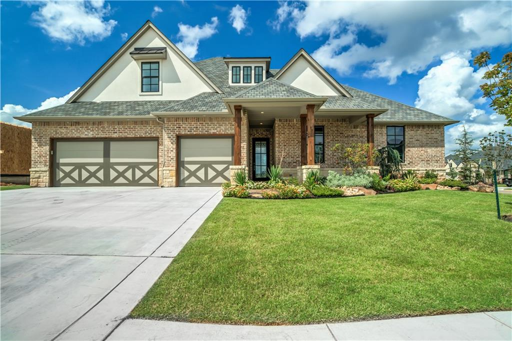 This stunning home with a beautiful focal point stone fireplace and large living, dining, and kitchen space will be your new favorite place. All 4 bedrooms are downstairs with one have a bathroom attached that is accessible from the living room and the other 2 rooms are connected by a jack n jill bathroom. The master bedroom is on the other side of the house and has a huge en suite bathroom with a large shower and soaking tub. It's connected to a large closet that has laundry room access. Upstairs you'll love the bonus room and another full bath. There is a large closet for storing all your games in too! Twin Bridges Village is a community born out of a passion for fine design, an obsession with premier quality & efficiency, as well as a desire to provide a modern luxury lifestyle on a more manageable scale. Gate, low maintenance community includes lawn care & irrigation, exclusive clubhouse & pool. Open Thursday-Monday 1-6, other days or mornings by appointment.