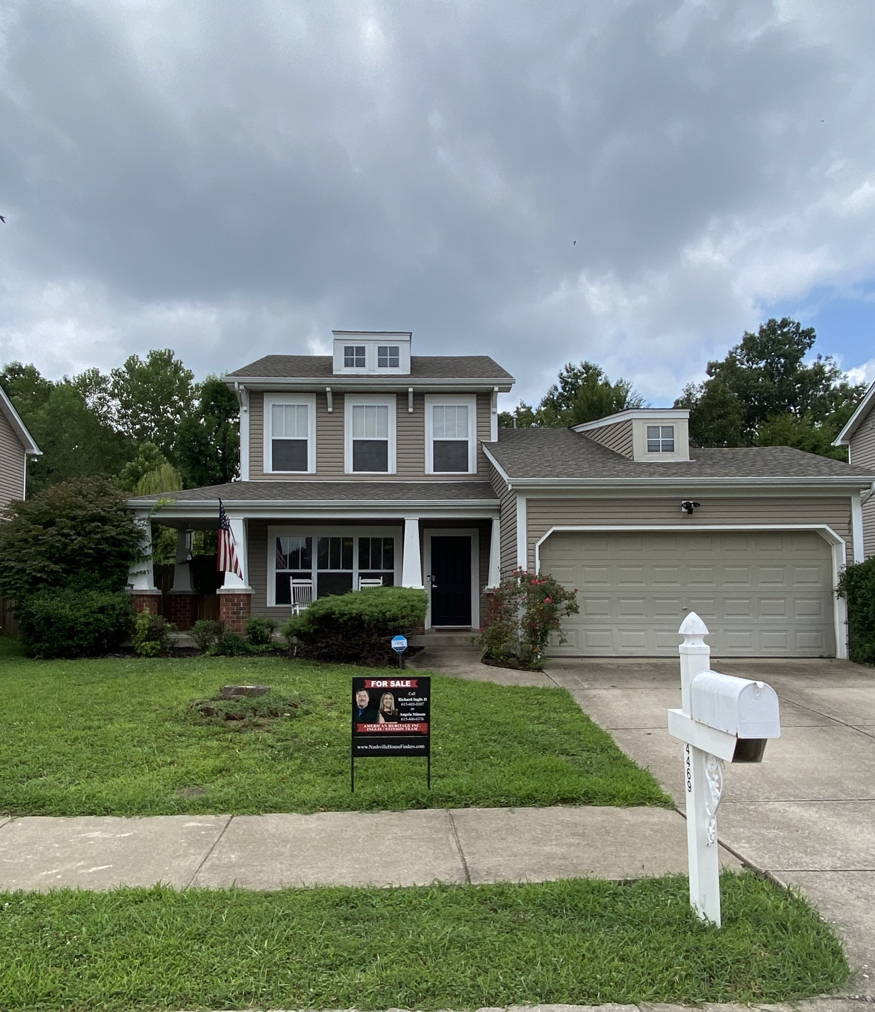 From The Covered Porch To the Sprawling Patio * Large Privacy Fenced Backyard this home Invites you to stay*  Master Suite on The Main Level* New Roof in 2017 * New Black Stainless Appliances * New Flooring Throughout Bottom* New Hot Water Heater