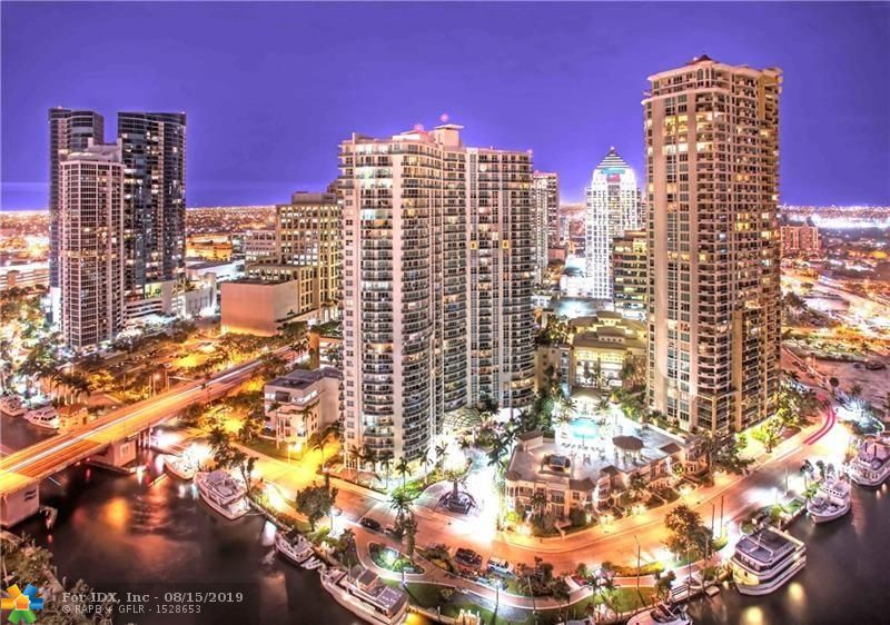 Best Views from the 21st floor & 04 Line (Seaview Model)! 3/2 with 2 Balconies & Unobstructed Views of Ocean, Intracoastal, New River & City! Sought After 2 Garage Tandem Parking Spots! Being Sold Furnished with Rich, Contemporary Design & Upgrades: Tile Thruout, Window Treatments, Ceiling Fans, Fine Woods, Granite, Stainless App., Full Size Was/Dry, Leather Furniture, HDTV's.  5 Star Resort-Style Living with Heated Pool, Spa, Cabanas, Fitness Center, Sauna, Massage Room, Library, Club Room, Piano Bar, River Terrace, Theater, Business Center, Board Room, Computer Room, Billiard/Sports Lounge, Concierge, Valet Parking, 24 Hour Security! View Pictures and Click for Virtual Tour! Enjoy the Las Olas Lifestyle and Nearby Beaches, Restaurants, Museums, Theater, Galleries, Shops, Water Taxi!