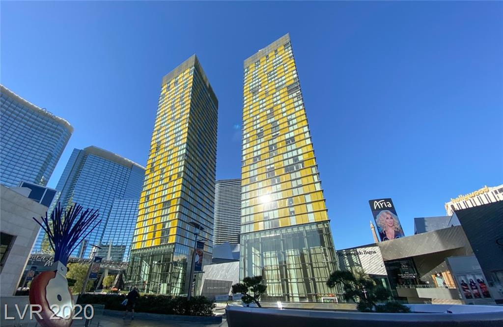 Incredible , former model unit in the center of luxury,Amazing views of the Aria and Park MGM, floor to ceiling windows, stainless steel appliances, private valet parking. Amazing rooftop infinity pool,cabanas, fitness center too many things to list!!!