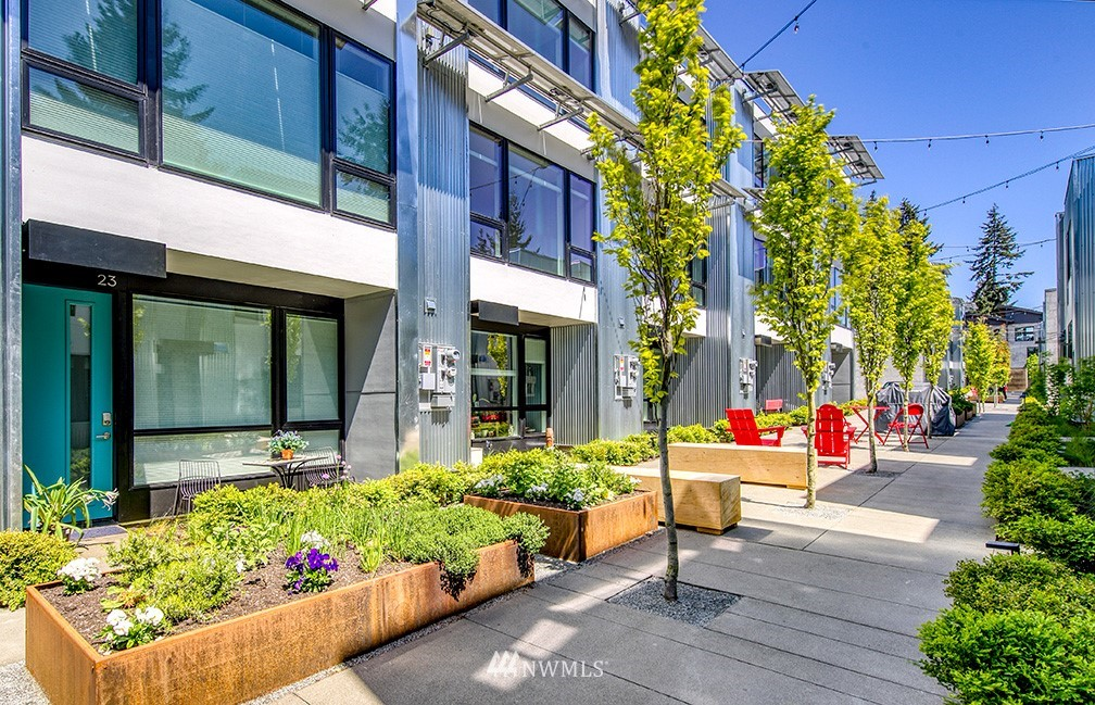 38 Units,Downtown Winslow,Market Cap Rate 4.43%, In place Cap rate 4.27%,demographics comparable to Bellevue, considered to be an 'A' submarket outside of Seattle, High end construction built in 2019/20,The currently below-market rent provides the buyer an opportunity to increase income while likely maintaining high occupancy(currently approx.100% occupied)no concessions. Built as condominiums, offering a new owner an alternative exit strategy in the form of selling individual buildings or townhome units. The Walk provide a buyer a low-risk investment with near and long-term growth potential. 6th safest city in Wash State, low utility costs- Zero Energy project with each home designed to be Net Zero energy with low maintenance solar panels.