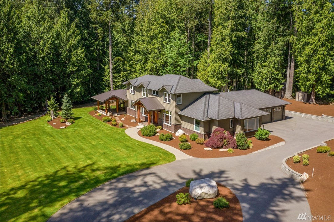 Spectacular Union Hill craftsman lodge estate home, by 4D architects. Long circular drive, Gorgeous 2.6 ac. idyllic, secluded, serene yet close-in to amenities. 4,240sf, 4 BR, 4.25 BA, + den + bonus + rec. rm + wine cellar and MIL/APT. MBR on Main, MIL on Main w/KT, LV, BR, 3/4BA, OnQ tech, A/C, Wired for GNRTR, Sec. Sys, Wired for Gate & Camera, Hot H2O Recirc Sys, Zoned Nat Gas Heat, Zoned Sprklr Sys, Hand scraped HRDWDs, Rift cut White Oak Cabinets/soft close, Huge Under Home Strg, RV Prkg.