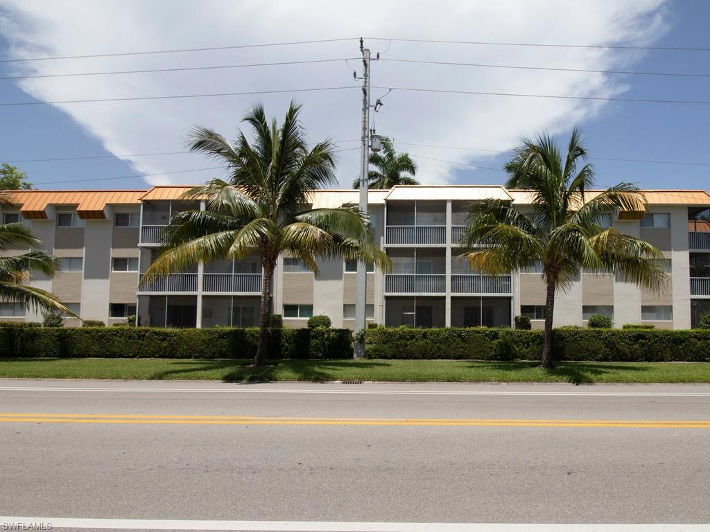 Lowest priced 2/2 condo not only on Gulf Shore BLVD, but in all of downtown Naples!  This is your one time opportunity to own a modern, updated, beautifully furnished condo on Gulf Shore Blvd. The location speaks for itself, walk across the street to the Naples Beach Hotel, or Lowdermilk Park to enjoy the beautiful Gulf of Mexico.  Take a short stroll to the shops and restaurants of 5th Avenue. The Mercato, Bayfront, Venetian Village, Tin City and Southwest Florida International Airport are all a short drive away.  Sit on your private balcony and enjoy the beautiful sunsets of Southwest Florida,  Nothing is lacking, this also comes with a generously sized storage unit complete with beach chairs, all linens, furnishings, table and glassware the only thing missing is you!  ACT NOW!