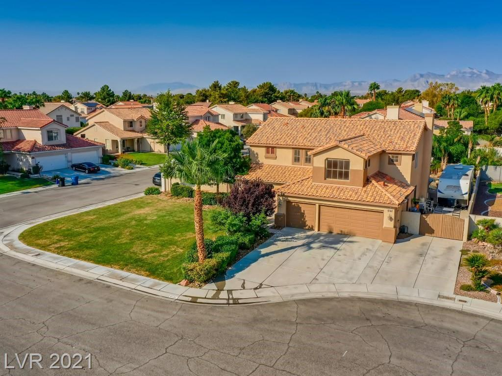 Great Location in the Eldorado Community. On a cul-de-sac with RV parking, huge lot with a lighted basketball court, patio, pool & spa. This home will make you feel like you are living in a resort! A Five Bedroom home that can accommodate all in comfort. This home has a bedroom downstairs with a full bath attached. Newly remodeled kitchen and bath room makes this home move in ready. Do not miss out on this one.  Rarely do you find everything this home offers in one beautiful package. A real winner!