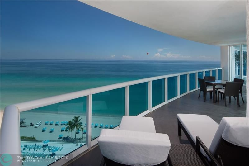 Private elevator opens to breathtaking direct oceanfront 3/3.5 luxury condo located in Hollywood.Enjoy living with amazing views from sunrise to sunset. Floor to ceilings impact windows, furniture is negotiable. Building Amenities include 24-hour valet, gym, pool and beach resort style services, private movie theater...much more... This unit is being offered with Rarely Available Studio Unit SS6 for $649,000. Unit was designed by Steven G and art work and furniture is also for sale $349,000.