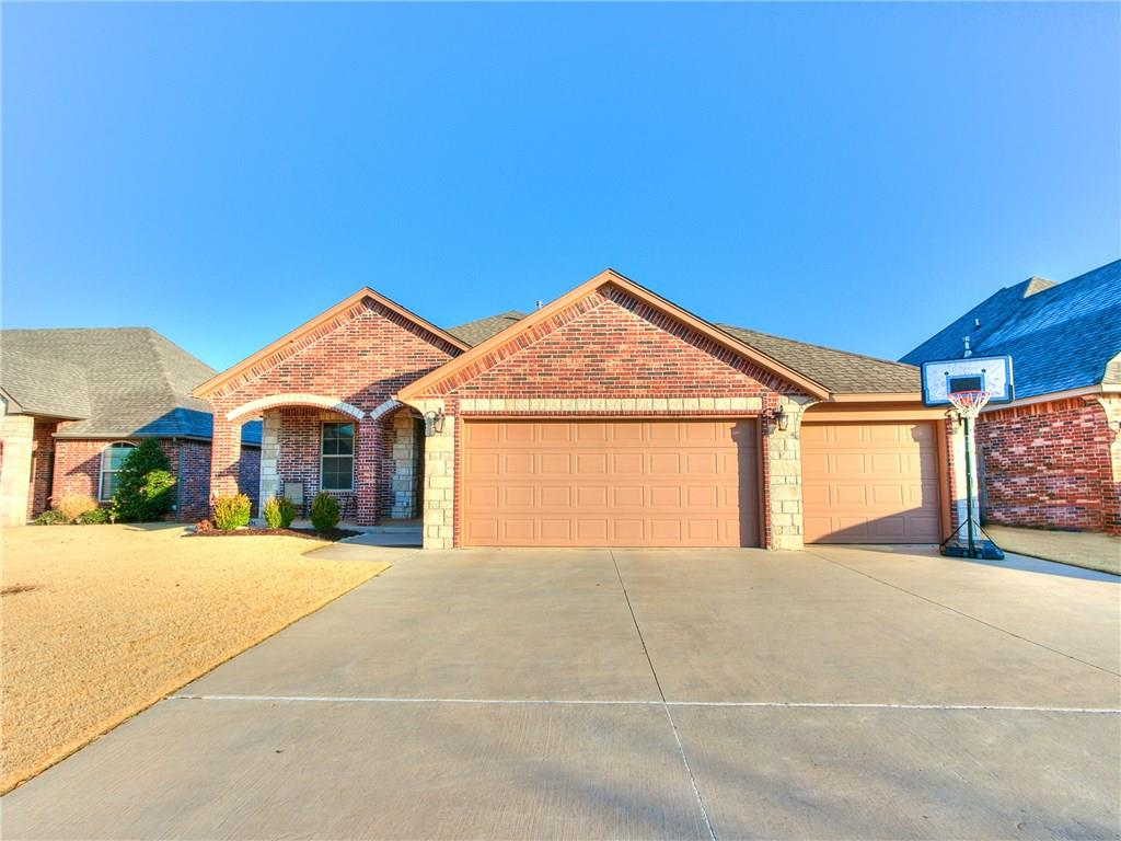 Don't miss this ADORABLE home with 3 beds, 2 baths + AN OFFICE in the highly sought after Deer Creek school district!!! Large, open kitchen boasts of granite counters, gas stove and beautiful cabinets to the ceiling!! (Not usually seen in this price point!) Kitchen overlooks the living area which consists of gorgeous wood-look tile that also continues into the master bedroom--Such a wonderful retreat!! The Council Ridge neighborhood has a community park and pool with so many amazing families! This home won't last long!! Don't wait!! Schedule your private showing TODAY!!!