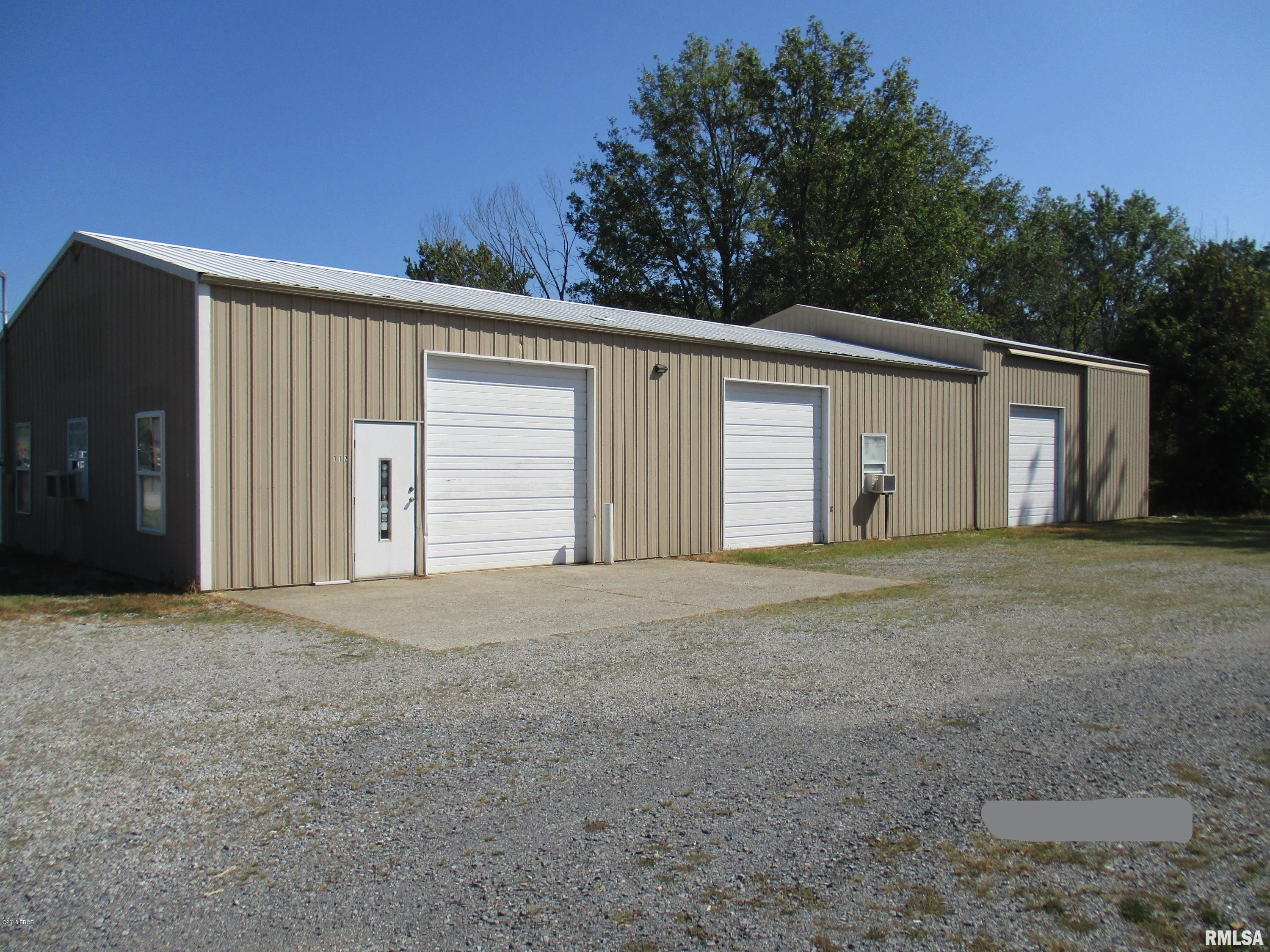 .85 acre with access to I-57 & US Rt 50. Zoned B-3 Highway Business. RE includes a pole building w/3024 sq ft & a 3 bedroom home currently rented for $450. per month. Home is being sold as is. Building is 30X60 - 1800 sq ft. with a 34X36 add on.Disclosure: none
