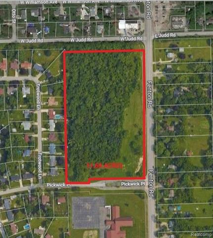 Reduced! Approx 800 ft. of frontage in front of Pickwick Place, Reduced. Commercial Investment, RM1 zoning. Frontage on Judd Rd. as well. Land contract possible.