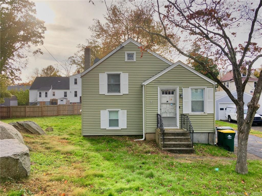 Charming split level house sold with adjacent lot  in B zone - it has 2 Family or added apartment possibilities - walk to restaurants, drug and grocery stores - Tons of potential - Close to  Metro North and i95 - Contact the town to find what  the possabilities are!